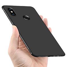 Custodia Silicone Ultra Sottile Morbida per Xiaomi Redmi Note 5 Pro Nero