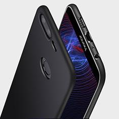 Custodia Silicone Ultra Sottile Morbida Q03 per Huawei Honor 9 Lite Nero