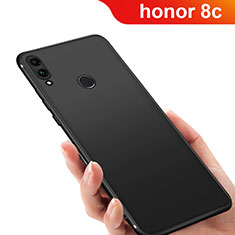 Custodia Silicone Ultra Sottile Morbida Q03 per Huawei Honor Play 8C Nero
