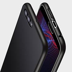 Custodia Silicone Ultra Sottile Morbida Q04 per Huawei Nova 2S Nero