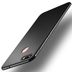 Custodia Silicone Ultra Sottile Morbida R01 per Huawei Enjoy 7 Nero
