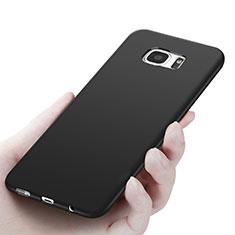 Custodia Silicone Ultra Sottile Morbida R06 per Samsung Galaxy S7 Edge G935F Nero