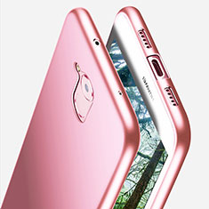 Custodia Silicone Ultra Sottile Morbida S02 per Huawei Enjoy 6S Rosa
