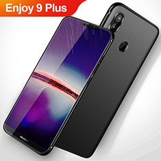 Custodia Silicone Ultra Sottile Morbida S02 per Huawei Enjoy 9 Plus Nero