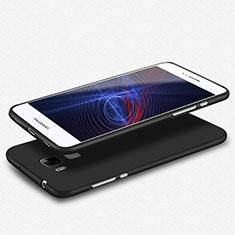 Custodia Silicone Ultra Sottile Morbida S02 per Huawei G8 Nero