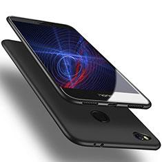 Custodia Silicone Ultra Sottile Morbida S02 per Huawei GR3 (2017) Nero