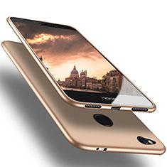 Custodia Silicone Ultra Sottile Morbida S02 per Huawei Honor 8 Lite Oro