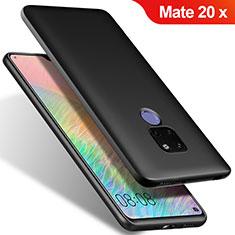 Custodia Silicone Ultra Sottile Morbida S02 per Huawei Mate 20 X 5G Nero