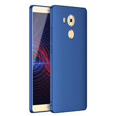 Custodia Silicone Ultra Sottile Morbida S02 per Huawei Mate 8 Blu