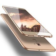 Custodia Silicone Ultra Sottile Morbida S02 per Huawei Mate S Oro