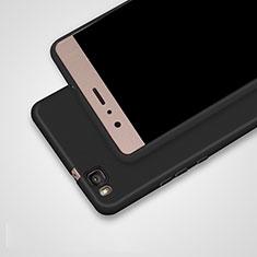 Custodia Silicone Ultra Sottile Morbida S02 per Huawei P9 Lite Nero