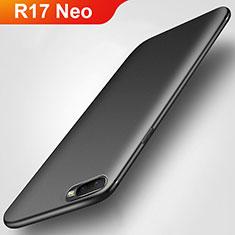 Custodia Silicone Ultra Sottile Morbida S02 per Oppo R17 Neo Nero