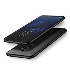 Custodia Silicone Ultra Sottile Morbida S02 per Samsung Galaxy A6 Plus (2018) Nero