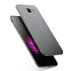 Custodia Silicone Ultra Sottile Morbida S02 per Samsung Galaxy A9 Pro (2016) SM-A9100 Grigio