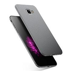 Custodia Silicone Ultra Sottile Morbida S02 per Samsung Galaxy C9 Pro C9000 Grigio