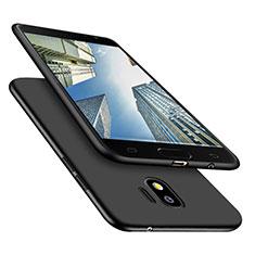 Custodia Silicone Ultra Sottile Morbida S02 per Samsung Galaxy J2 Pro (2018) J250F Nero