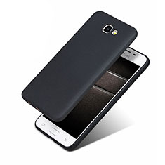 Custodia Silicone Ultra Sottile Morbida S02 per Samsung Galaxy J5 Prime G570F Nero