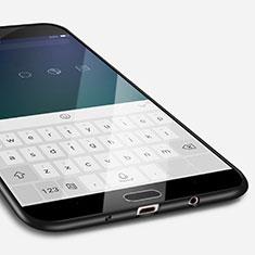 Custodia Silicone Ultra Sottile Morbida S02 per Samsung Galaxy J7 Prime Nero