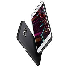 Custodia Silicone Ultra Sottile Morbida S02 per Samsung Galaxy S7 Edge G935F Nero