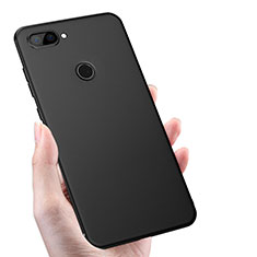 Custodia Silicone Ultra Sottile Morbida S02 per Xiaomi Mi 8 Lite Nero