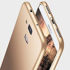 Custodia Silicone Ultra Sottile Morbida S03 per Huawei G8 Oro