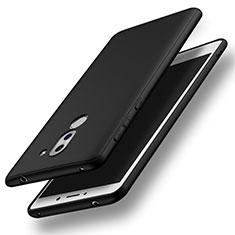 Custodia Silicone Ultra Sottile Morbida S03 per Huawei Honor 6X Nero