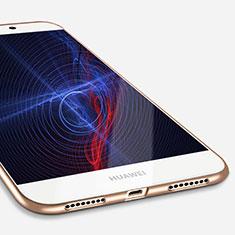 Custodia Silicone Ultra Sottile Morbida S03 per Huawei Mate S Oro