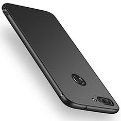 Custodia Silicone Ultra Sottile Morbida S03 per Huawei P Smart Nero