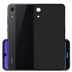 Custodia Silicone Ultra Sottile Morbida S03 per Huawei Y6 (2019) Nero