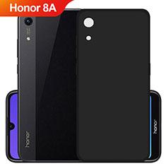 Custodia Silicone Ultra Sottile Morbida S03 per Huawei Y6 Prime (2019) Nero