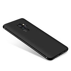 Custodia Silicone Ultra Sottile Morbida S03 per Samsung Galaxy A6 Plus (2018) Nero