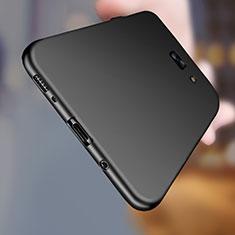Custodia Silicone Ultra Sottile Morbida S03 per Samsung Galaxy C7 Pro C7010 Nero