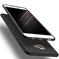Custodia Silicone Ultra Sottile Morbida S03 per Samsung Galaxy C9 Pro C9000 Nero