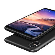 Custodia Silicone Ultra Sottile Morbida S03 per Xiaomi Mi Max 3 Nero