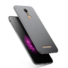 Custodia Silicone Ultra Sottile Morbida S03 per Xiaomi Redmi Note 3 MediaTek Grigio