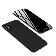 Custodia Silicone Ultra Sottile Morbida S03 per Xiaomi Redmi Y2 Nero