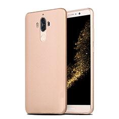 Custodia Silicone Ultra Sottile Morbida S04 per Huawei Mate 9 Oro