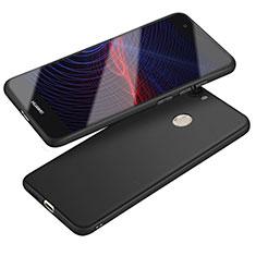 Custodia Silicone Ultra Sottile Morbida S04 per Huawei Nova Nero