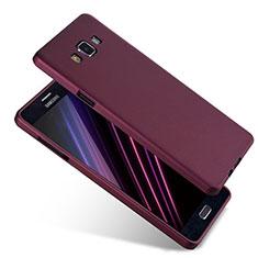 Custodia Silicone Ultra Sottile Morbida S04 per Samsung Galaxy A7 Duos SM-A700F A700FD Viola