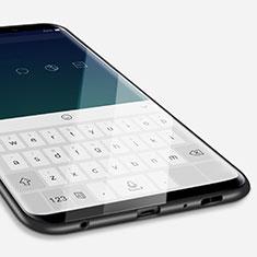 Custodia Silicone Ultra Sottile Morbida S04 per Samsung Galaxy S9 Nero