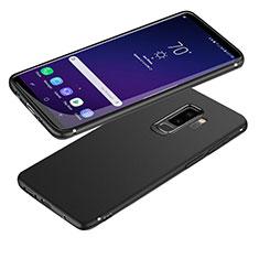 Custodia Silicone Ultra Sottile Morbida S04 per Samsung Galaxy S9 Plus Nero