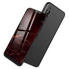 Custodia Silicone Ultra Sottile Morbida S04 per Xiaomi Mi 8 Pro Global Version Nero