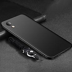 Custodia Silicone Ultra Sottile Morbida S05 per Huawei Y6 (2019) Nero