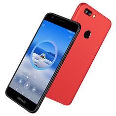 Custodia Silicone Ultra Sottile Morbida S06 per Huawei Nova 2 Plus Rosso