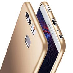 Custodia Silicone Ultra Sottile Morbida S06 per Huawei P9 Plus Oro