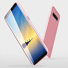 Custodia Silicone Ultra Sottile Morbida S06 per Samsung Galaxy Note 8 Duos N950F Rosa