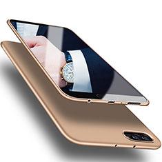 Custodia Silicone Ultra Sottile Morbida S07 per Huawei Honor V10 Oro