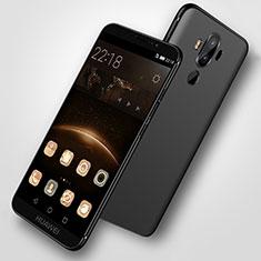 Custodia Silicone Ultra Sottile Morbida S07 per Huawei Mate 9 Nero