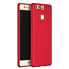 Custodia Silicone Ultra Sottile Morbida S07 per Huawei P9 Rosso
