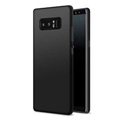 Custodia Silicone Ultra Sottile Morbida S07 per Samsung Galaxy Note 8 Duos N950F Nero